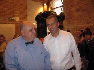 Pavel Khoroshilov Vice-Minister of Culture of the Russian Federation and Emilio Vianello
